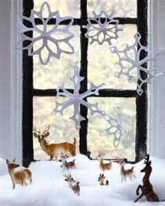 Decorating your window & windowsill for the Holiday's