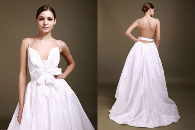 Wedding Dress for the classic yet sassy bride
