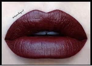 Marsala Pantone color in weddings tip#1 Your lips