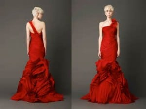 New Trend:Red Wedding Dress