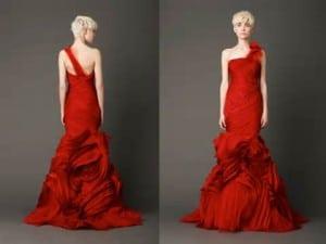 New Trend:Red Wedding Dress