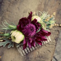 Fresh Flowers for your hair on your Wedding Day