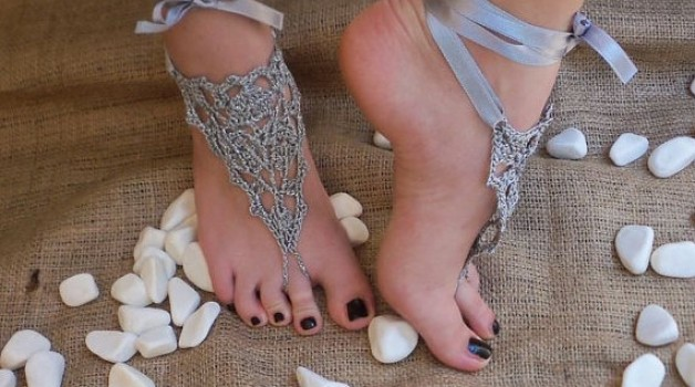 Wedding on a beach- Foot Jewelry
