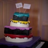 Tipsy Turvy Cake