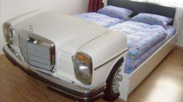 Recycled Furniture:  Cars & Beds