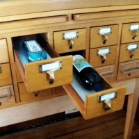 Recycled furniture- Part 1: Card Catalog Cabinet