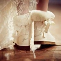 Winter Wedding Boots-Oh what a night!