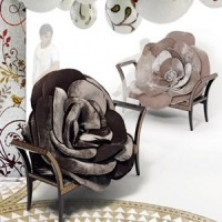 Black Rose Chair
