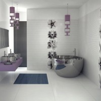Modern Bathroom : Color Palette Orchid