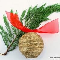 DIY: Rustic Ornaments