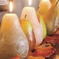 Mix & Match Candles & Fruit Centerpieces