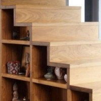 Floating Staircase & Storage Cubes