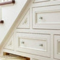 Classic Staircase with side drawers