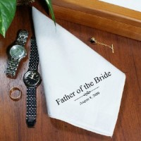 Personalized Wedding Men's Handkerchief