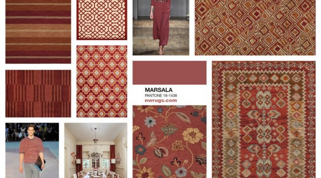 Tip 2: Pantone Color 2015: Rugs