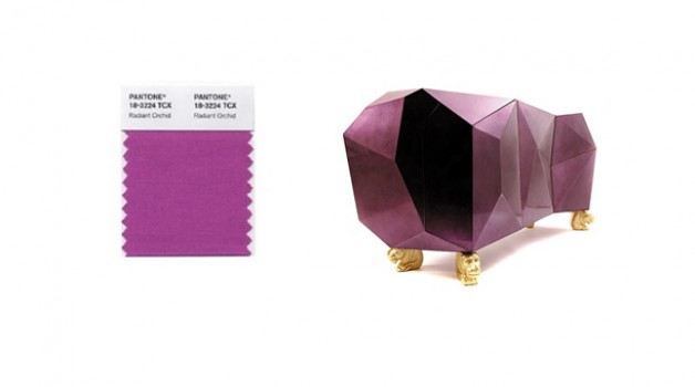 Color of the year: Radiant Orchid, Go Big & Go Bold