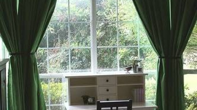 Emerald Curtains: Bedroom, Living or Study Spaces