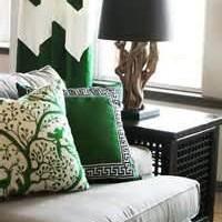 Emerald Throw Pillows