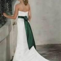 Emerald Wedding Sash