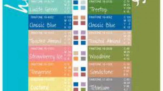 Spring and Summer Trend colors for Her and Him